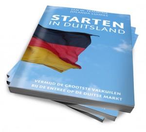Boek Starten in Duitsland van auteurs Jan Temmink en Jolanda Luimes belicht het zakendoen in Duitsland.